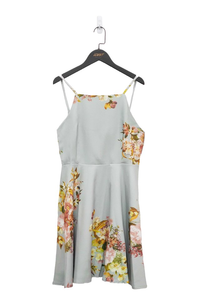 FLORA MAGIC SKATER DRESS (MINT)