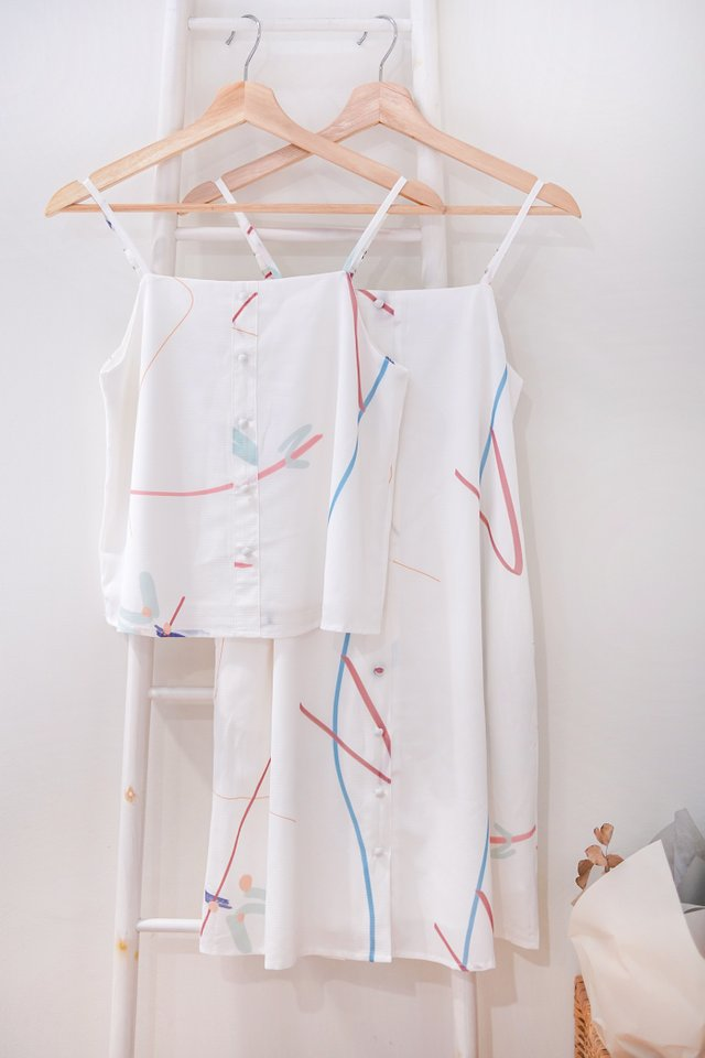 TAFFY DOODLE BUTTON CAMI TOP #MADEBYLOVET