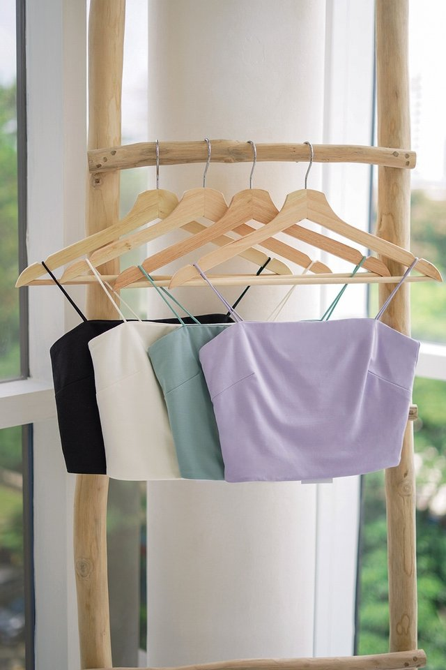 AELLA CAMI CROP TOP #MADEBYLOVET (LILAC) *RESTOCKED*