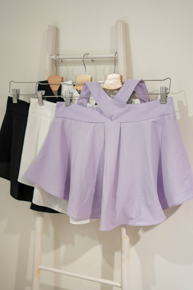 HOLLAND CRISS CROSS TOP #MADEBYLOVET (LILAC)