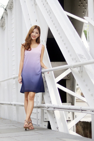 ADELYN OMBRE DRESS (VALENTINE)